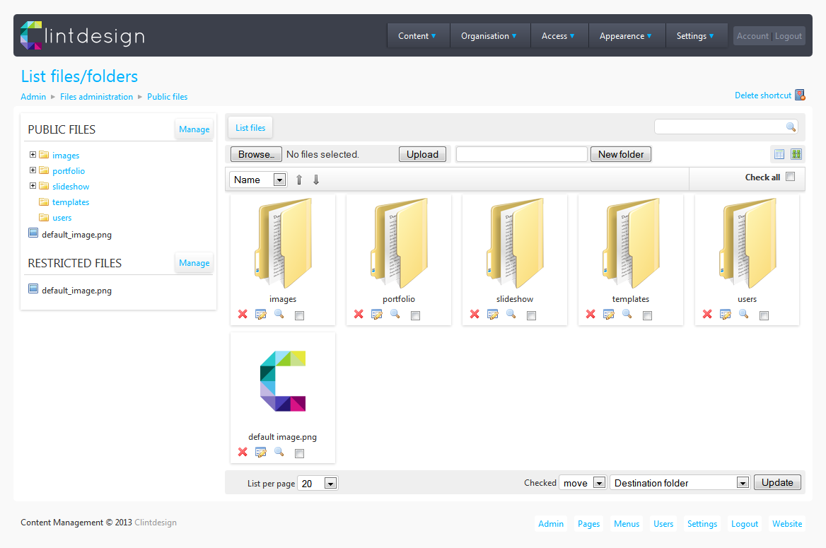Custom Content Management Systems By Clint Sibbald